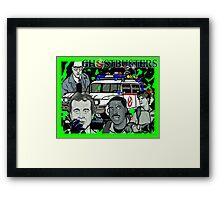 the Ghostbusters Framed Print