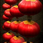 Lanterns, Xi'an, China 2006 by John Tozer