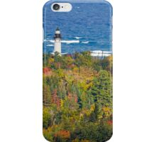 Lighthouse at Au Sable Point iPhone Case/Skin