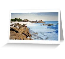 Secluded Bay Greeting Card
