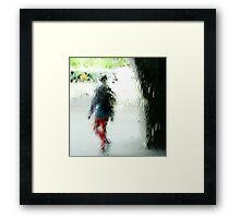 vendour palette #8 (spin drifting) Framed Print