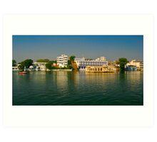 Chillin, Lake Pichola   Udaipur Art Print