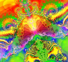 Psychedelic World by Geoff French