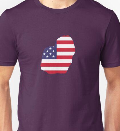 Dog Lhasa Apso American  Unisex T-Shirt