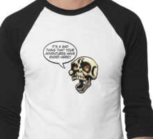 Yorick Speaks! Men's Baseball ¾ T-Shirt
