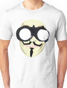 anonymous mask Unisex T-Shirt