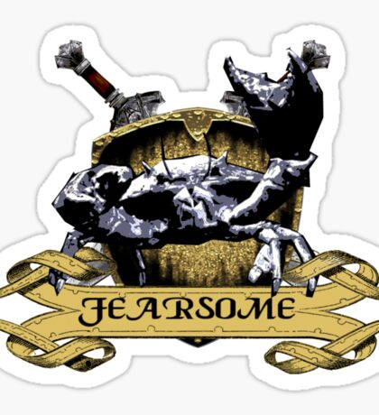 More Fearsome Than You Sticker