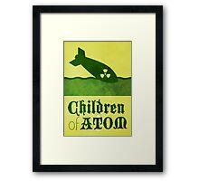 The Children of Atom Framed Print