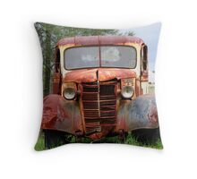 Rust In Peace Throw Pillow