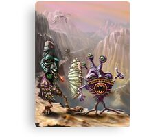 Three Friends cross the Atlip desert Canvas Print