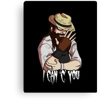 I Can C You Canvas Print