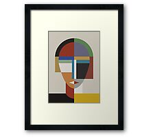 WOMAN AND WOMEN Framed Print