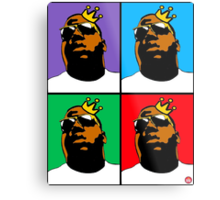 HIP-HOP ICONS: NOTORIOUS B.I.G. (4-COLOR) Metal Print