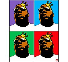 HIP-HOP ICONS: NOTORIOUS B.I.G. (4-COLOR) Photographic Print