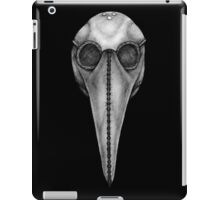 Plague Doctor's Mask iPad Case/Skin