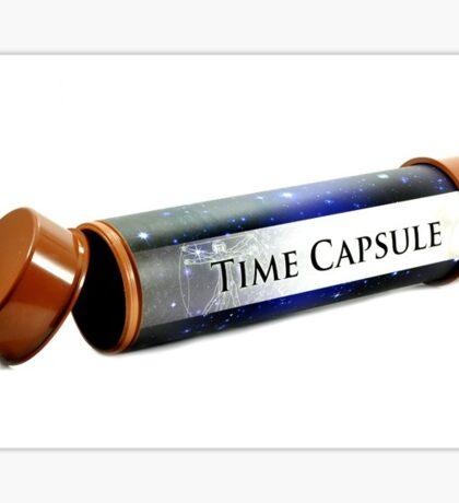 time capsule Sticker