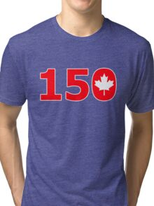 Canada 150 Years of Confederation Tri-blend T-Shirt
