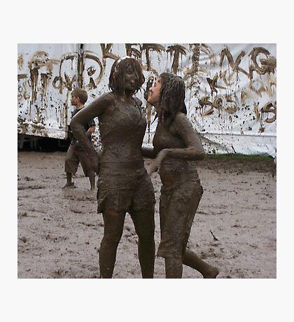 Mud fun Photographic Print