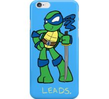 Teenage Mutant Ninja Turtles- Leonardo iPhone Case/Skin