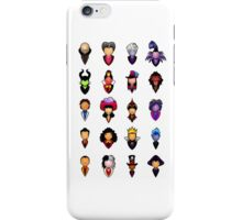 Disney Villains - Collective iPhone Case/Skin