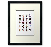 Disney Villains - Collective Framed Print