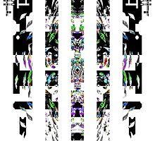 Alien Barcode (light backgrounds) by v112