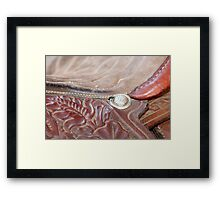 At the Fly Rodeo Framed Print