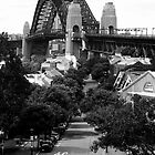 Sydney Harbour Bridge from The Rocks by Stephen Kilburn