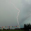 Lightning at Penrith by Stephen Kilburn