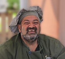 Smiling Chef by phil decocco