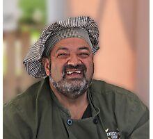 Smiling Chef Photographic Print