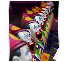 Ha Ha said the Clown Poster
