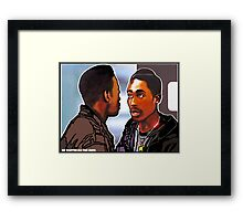 """HE WANTED ALL THE JUICE!""  Framed Print"