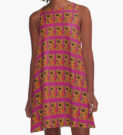 Grumpy Bear A-Line Dress