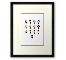 Doctor Who - Collective Framed Print