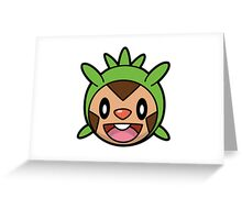 Chespin Face Greeting Card