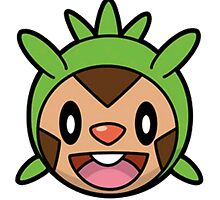 Chespin Face by RagingPixie