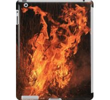 Fire and Flame Background - Hot Beauty iPad Case/Skin