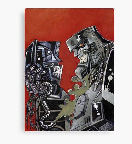 Transformers Goodbye Prime Canvas Print