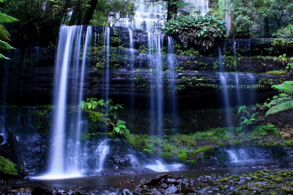 Russell Falls by Mark Snelson
