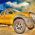 Yellow Truck And A Bit Of Sky by ChasSinklier