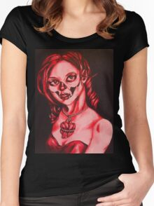 Have a heart shirt Women's Fitted Scoop T-Shirt