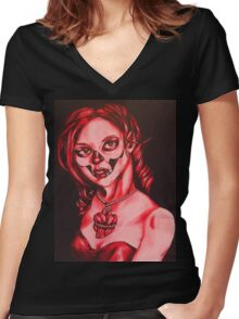 Have a heart shirt Women's Fitted V-Neck T-Shirt