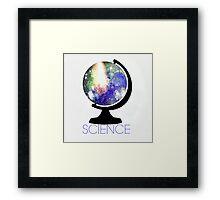 Science! Framed Print
