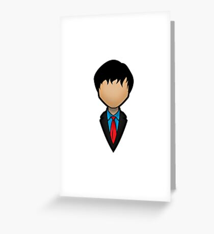 Second Doctor - Patrick Troughton Greeting Card