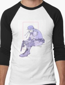 Watchful Snake Men's Baseball ¾ T-Shirt