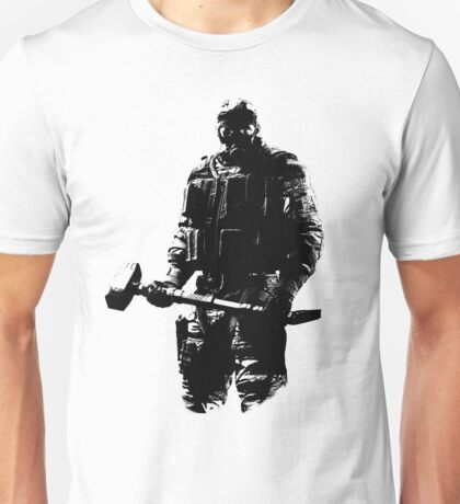 Weathered Sledge Rainbow Six Unisex T-Shirt