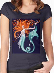 Siren II Women's Fitted Scoop T-Shirt