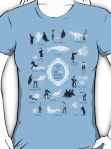 A Guide to Rare and Unusual Patronuses T-Shirt
