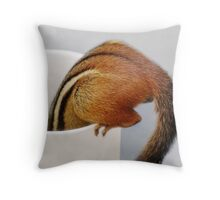 Bottoms Up! Throw Pillow